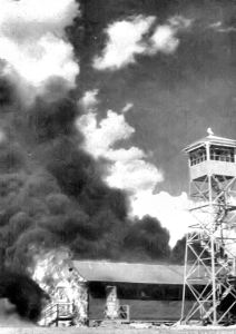 Carlsbad_AAF_Fire_after_Bat_Bomb_Accident